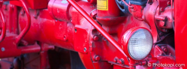 Facebook Cover Photo Red Headlight
