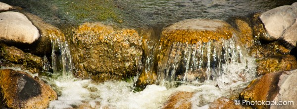 Facebook Cover Photo Water over Rocks