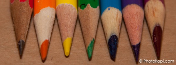 Facebook Cover Photo Colored Pencils