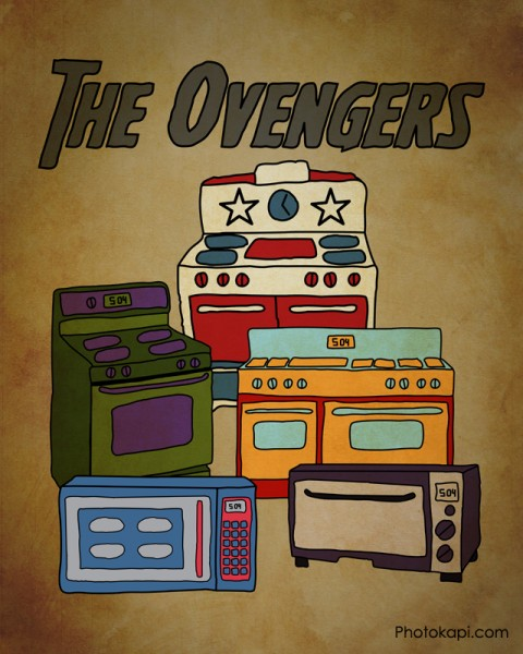 The Ovengers Poster