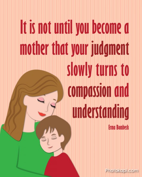 Mother Judgement Compassion Understanding Mom Boy