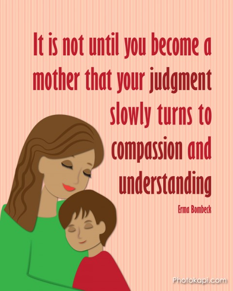 Mother Judgement Compassion Understanding Mom Boy 2