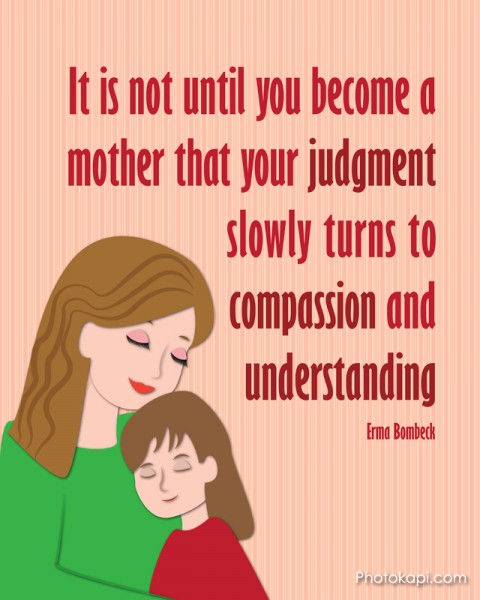 Mother Judgement Compassion Understanding Mom Girl