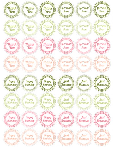 Mason Jar Lids Printables All Lids