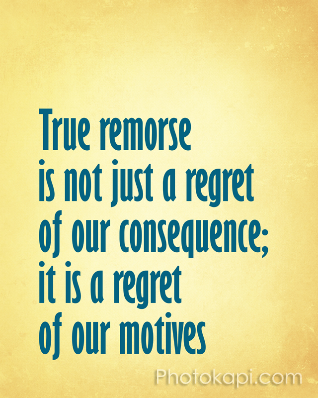 Remorse Vs Regret Photokapi Com