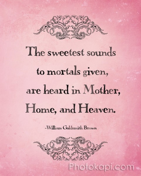 The sweetest sounds