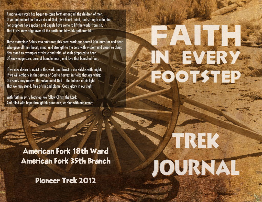 Pioneer Trek Journal Cover