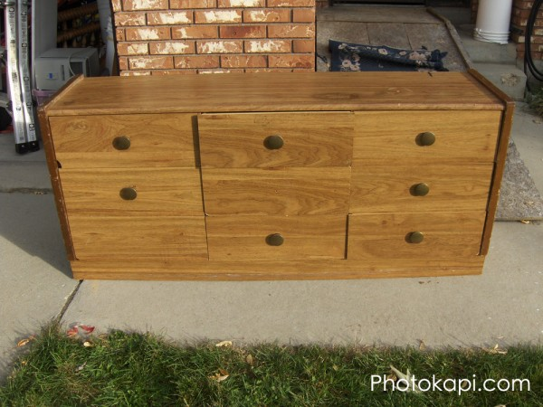 Old Dresser to Bench 1