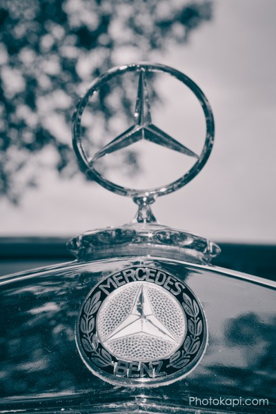 Mercedes Hood Ornament