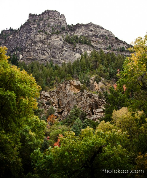 Autumn in American Fork Canyon