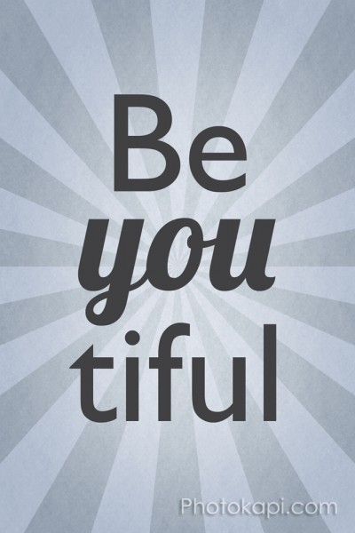 Be You Tiful - Grey