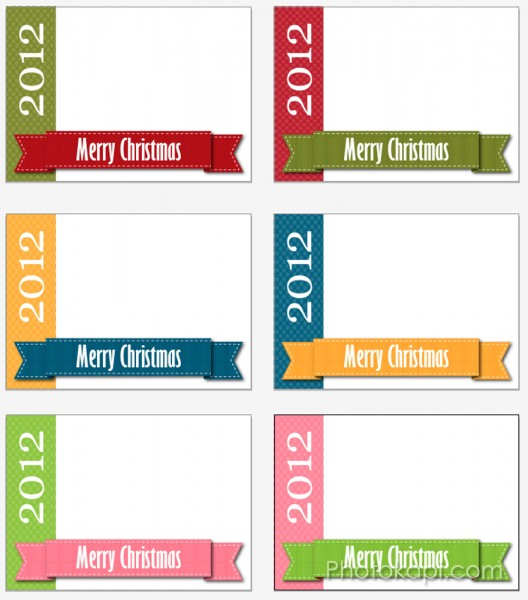 Free Christmas Card Photo Templates