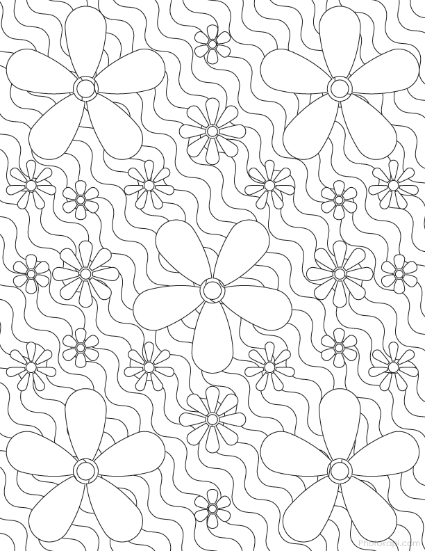 Grown Up Coloring Pages 1 - Photokapi.com
