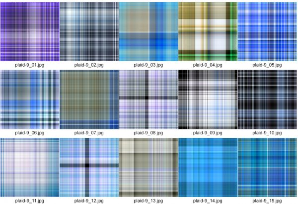 Plaids IX by Photokapi | Photokapi.com