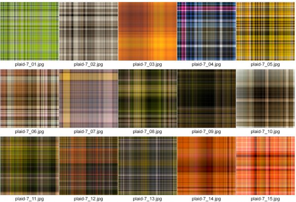 Plaids VII by Photokapi | Photokapi.com