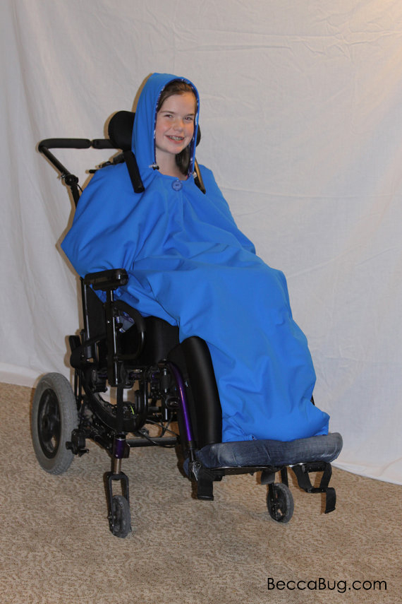 Wheelchair Coat by BeccaBug Designs