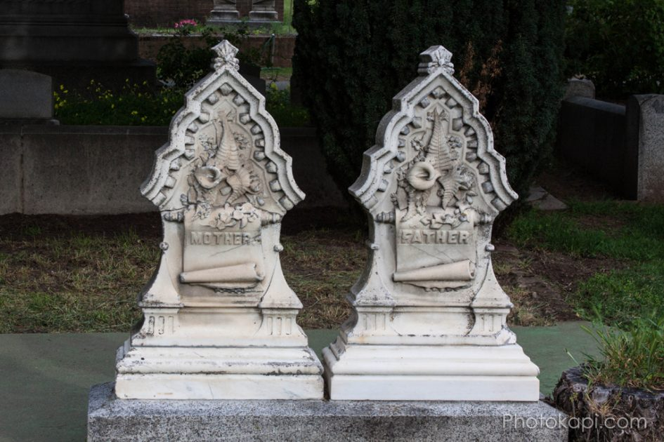 Mother and Father Headstones - Photokapi.com