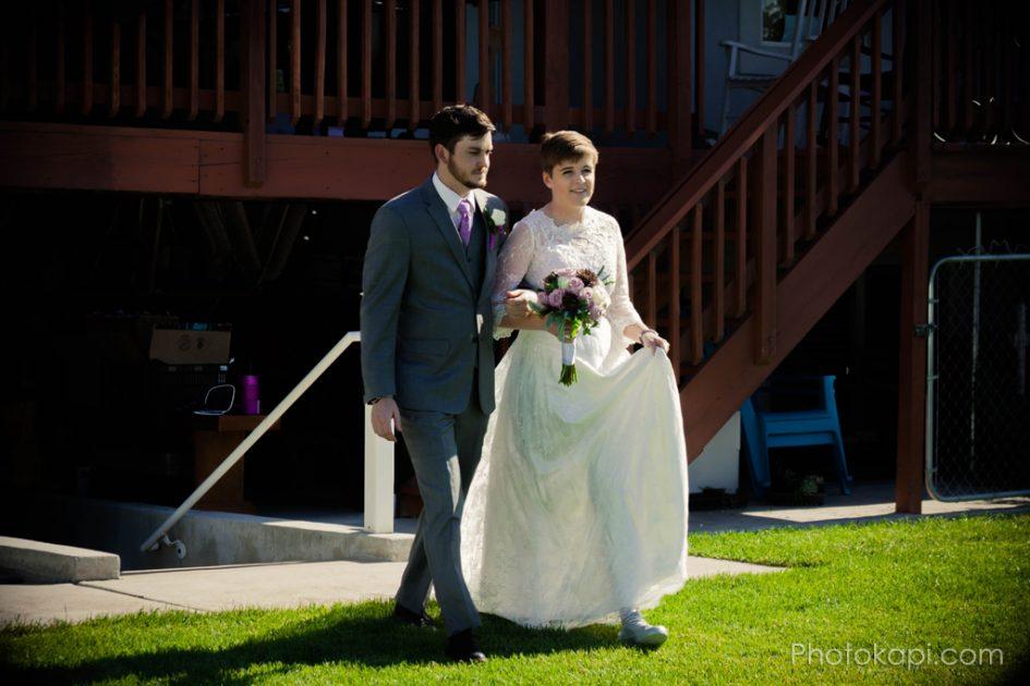 Rachel and Jake Wedding - Photokapi.com