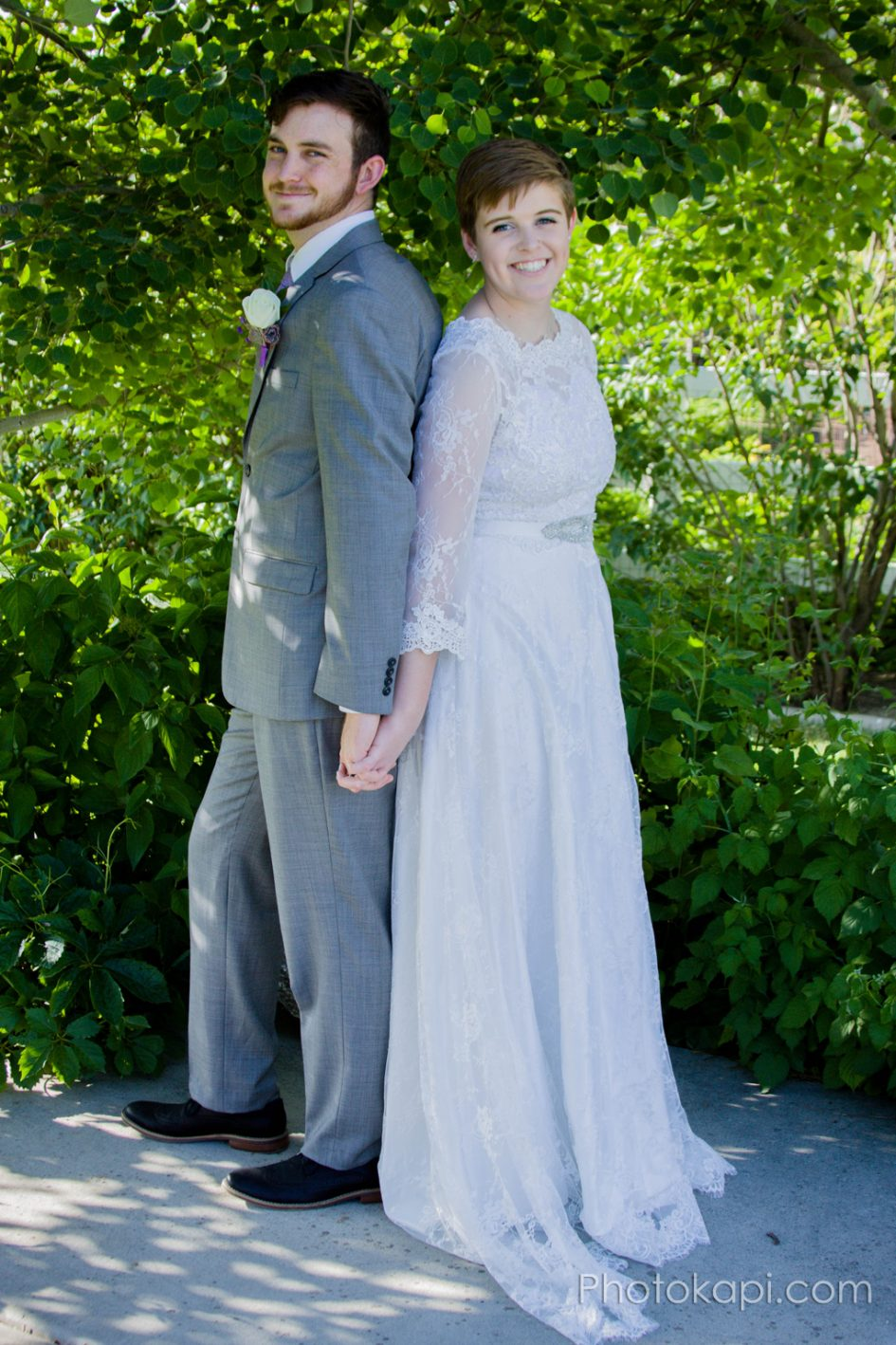Rachel and Jake Wedding - Photokapi.com