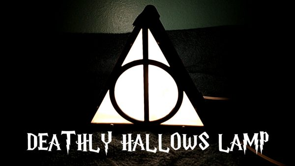 Harry Potter - Deathly Hallows Lamp | Photokapi.com