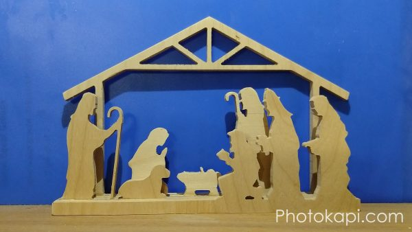 CNC Nativity Set | Photokapi.com