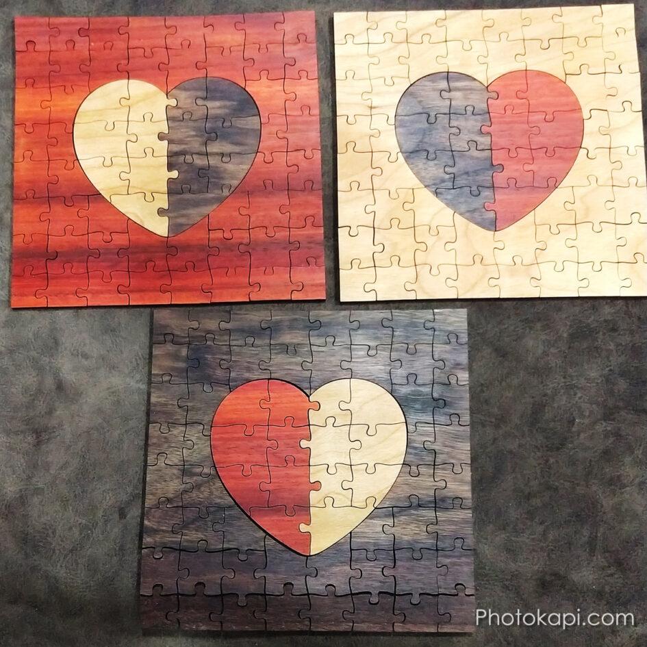 Wooden Puzzles | Photokapi.com