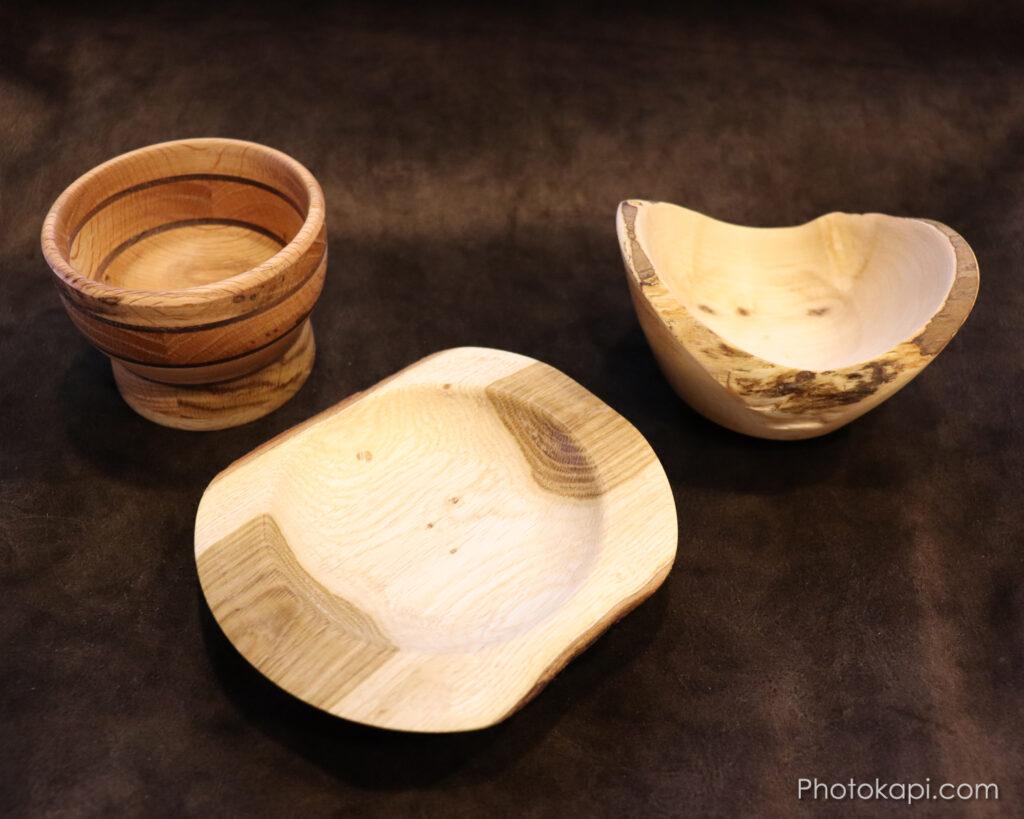 Oak, Maple and Walnut Bowls | Photokapi.com